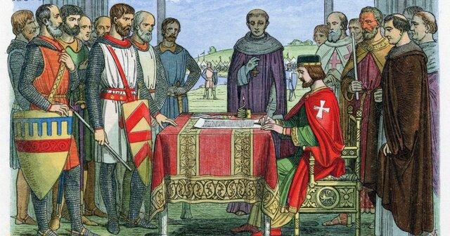 La Carta Magna de 1215