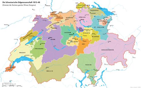 La Confederación Suiza