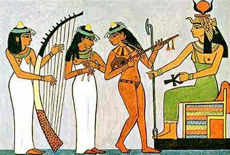 Los egipcios.