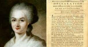 Declaración de los Derechos de la Mujer y la Ciudadana de 1791