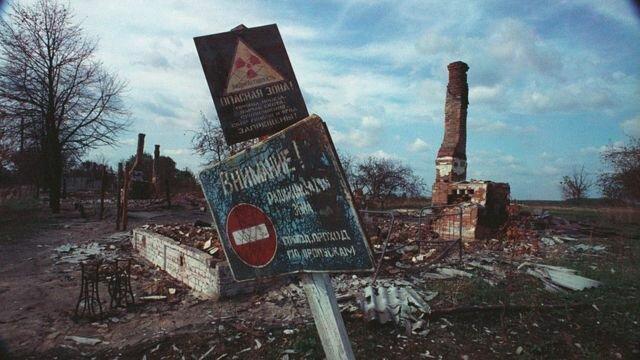 Desastre de Chernobyl.