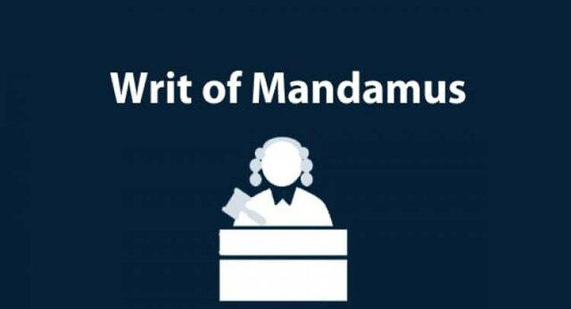 Writ of mandamus