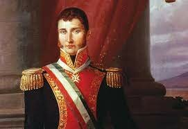 Agustín  de  Iturbide acepto el mando como comandante y jefe para luchar contra guerrero