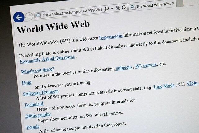 DEBUT DE LA WEB