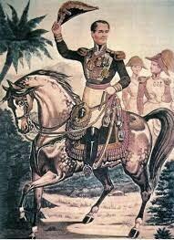 Santa-Anna asumió el mando