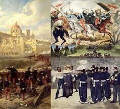 el ejército francés empezó a sufrir derrotas a manos de las guerrillas mexicanas