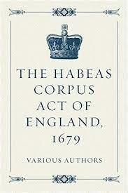 EL ACTA DE HABEAS CORPUS