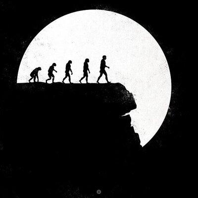 Evolución del concepto de hombre timeline