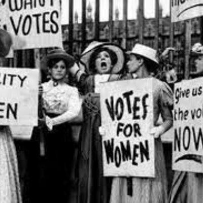 Women Suffrage Movement timeline