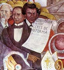 Benito Juárez promulgó  la nueva constitución  mexicana