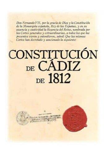 ESPAÑA- Constitución de Cádiz