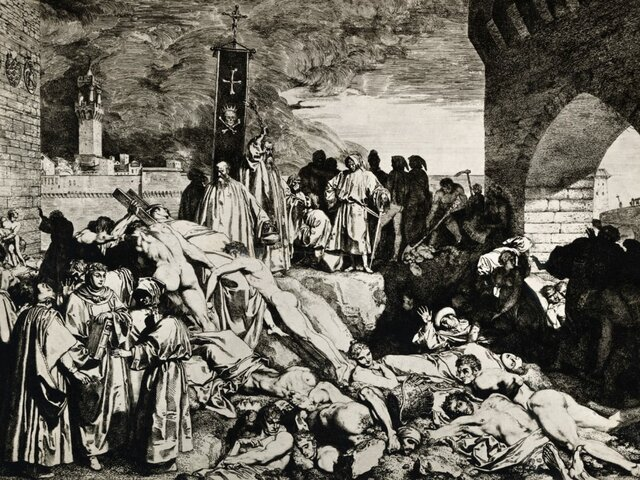The start of the Black Plague
