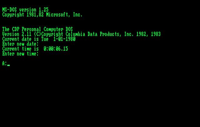 Microsoft: разработка ОС MS-DOS