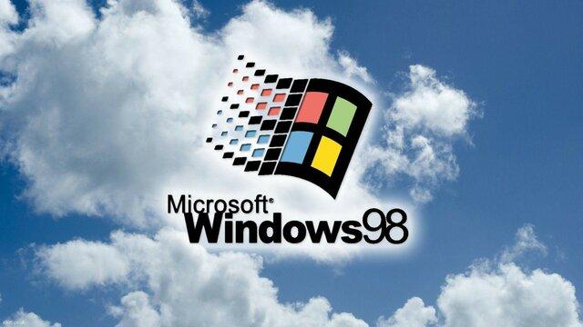Microsoft: выход ОС Windows 98