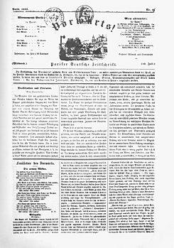 """Vorwärts (""""Adelante"""")"""