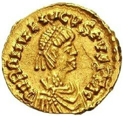 Romulus Augusto, últim emperador de l'Imperi Romà d'Occident destronat.