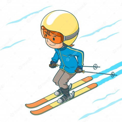 Primera esquiada