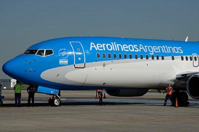 primer vol a Argentina