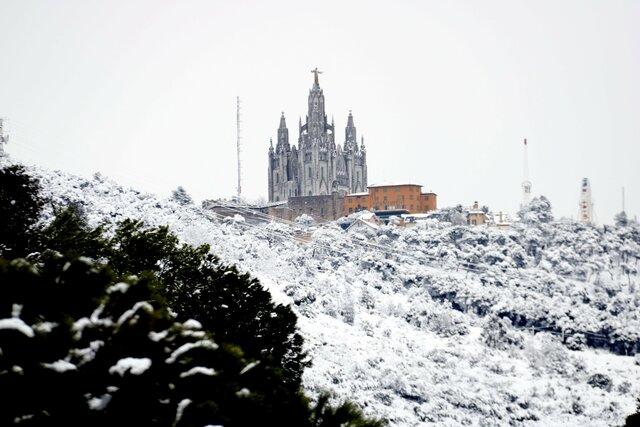 Neva a Barcelona