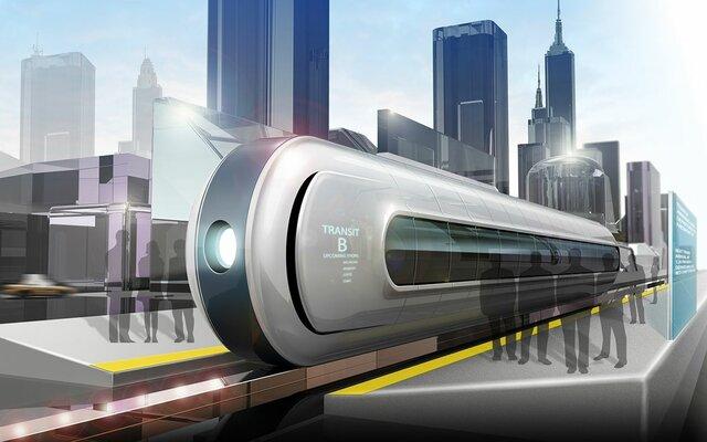 Футуристичные жд поезда
