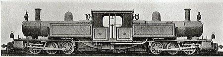 локомотив Fairlie