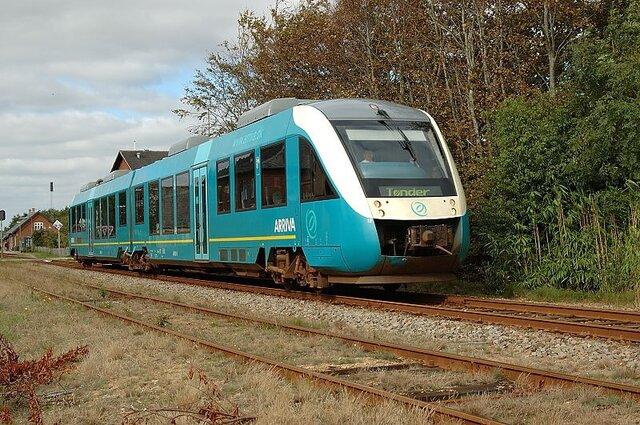 Водородный поезд Alstom Coradia iLint