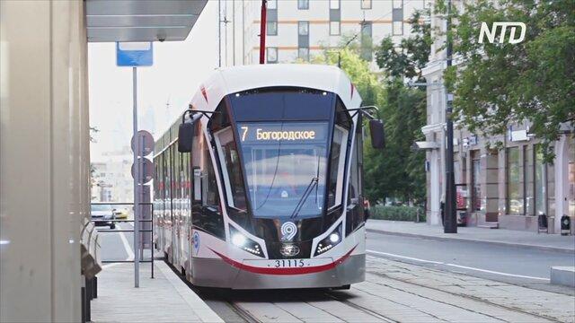 Беспилотные трамваи проходят испытания в Потсдаме