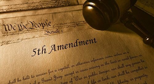 Fifth Amendment to the United States Constitution