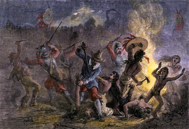 Massacre at Mystic