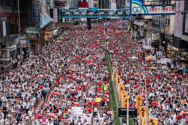Protestes a Hong Gong (social)