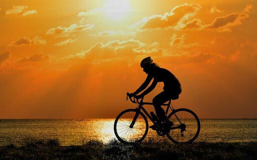Primera vegada en bici