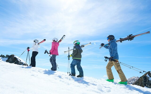 vaig a esquiar