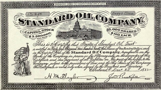 Rockefeller Opens Standard Oil