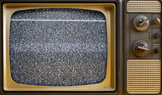 Television becomes widespread in households
