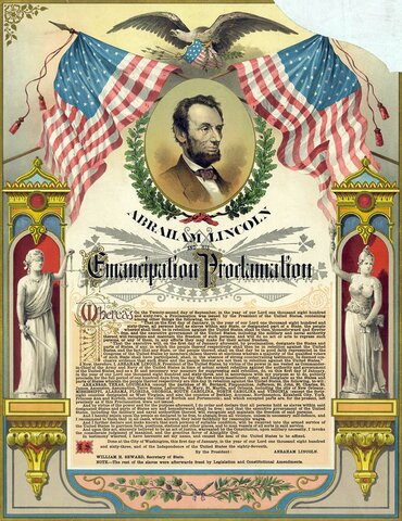 The Emancipation Proclamation is Issued