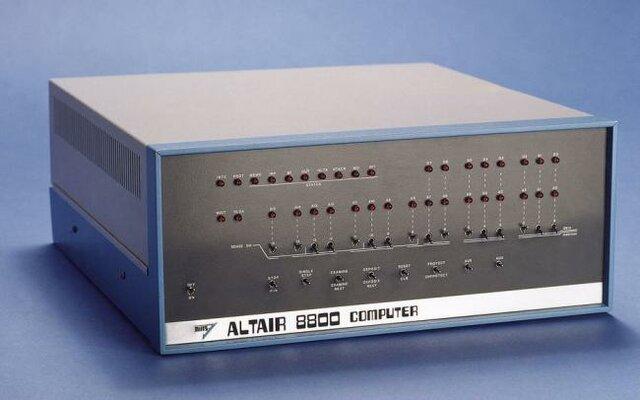 Primer microordenador, altair 8800