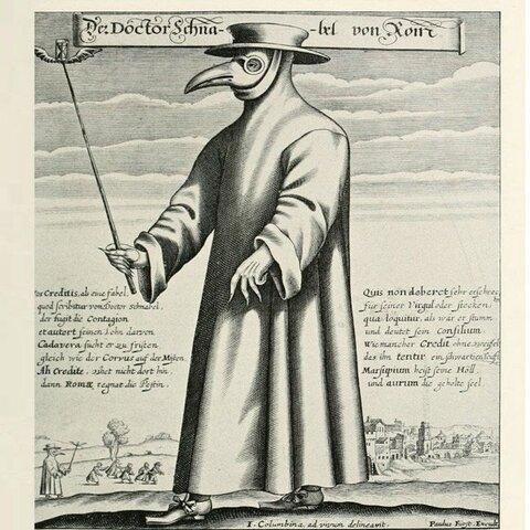 The Bubonic Plague- (1346-1353)