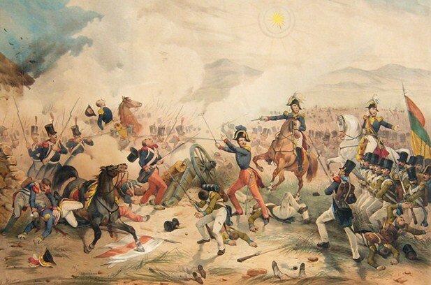 Invasión de Bolivia y Muerte de Gamarra.
