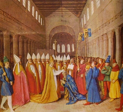 Carlo Magno diventa re