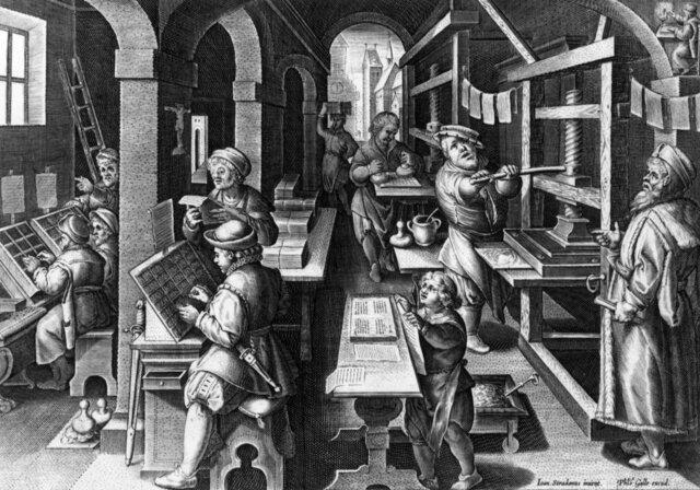 Printing Press (1440)