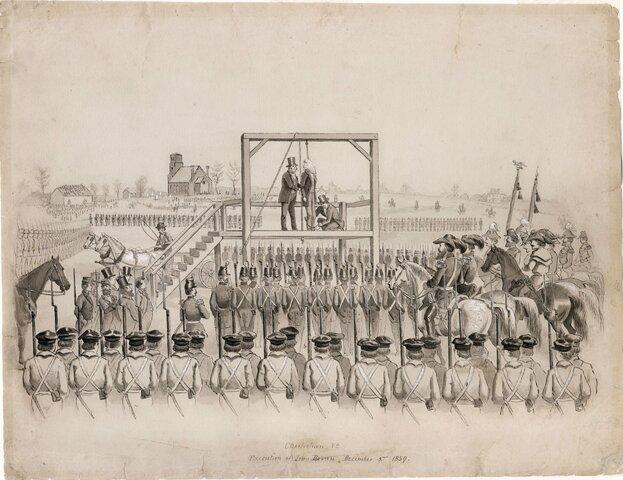 John Brown Execution