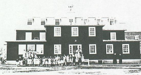 ÎLE-À-LA-CROSSE Residential School Opens