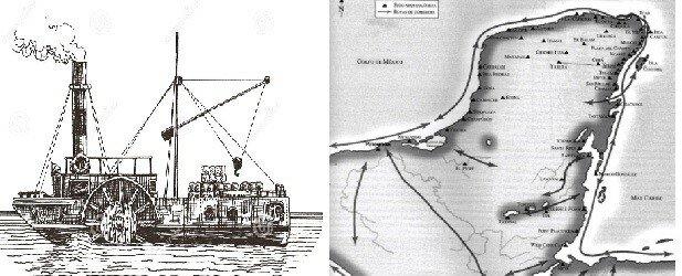 Rutas de abastecimiento e intercambio mercantil (Fenicios)