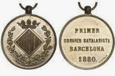 Celebració del Primer Congrés Catalanista