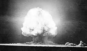 primera detonación nuclear