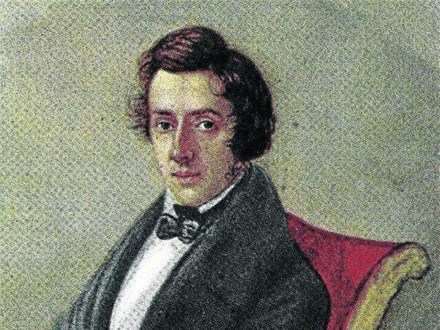 Frédéric Chopin expresivo