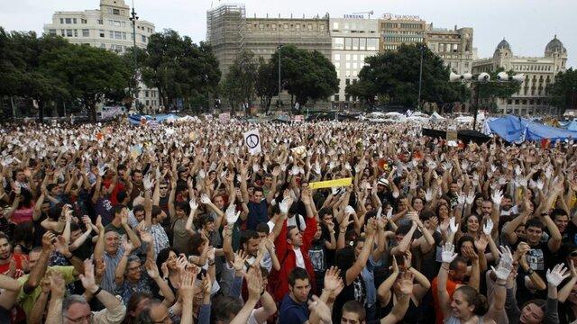 1a menifestació del 15-M (social)