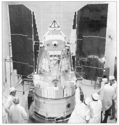 1972 - Lanzamiento del primer satélite Landsat