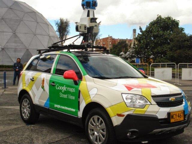 2007: Google lanza Street View