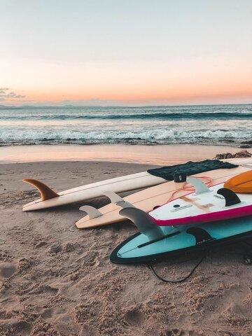 Començo el surf